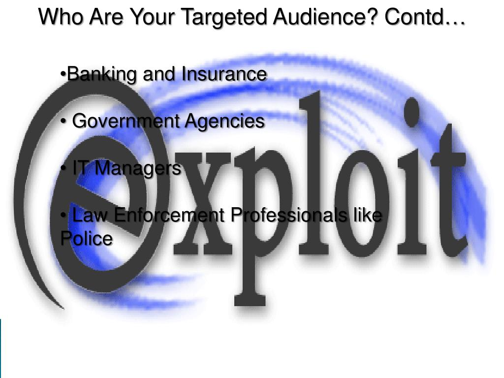 Who Are Your Targeted Audience?