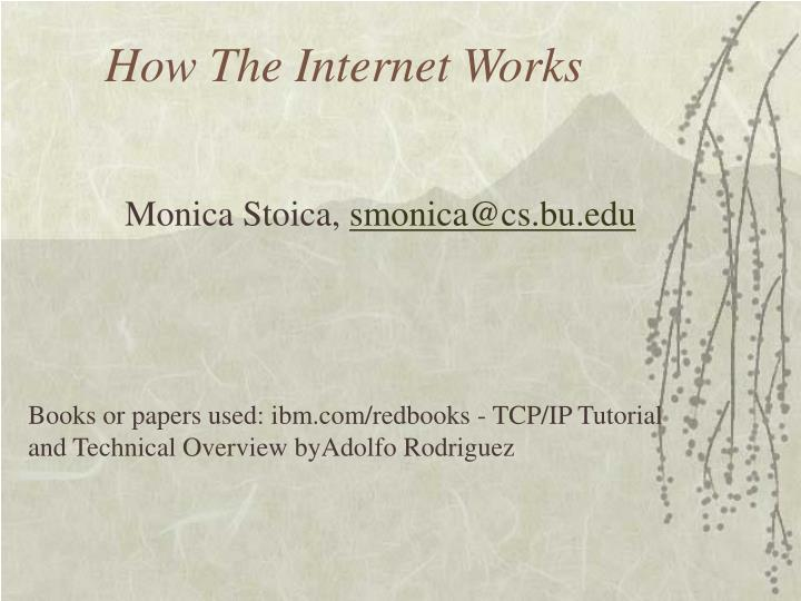 how the internet works n.