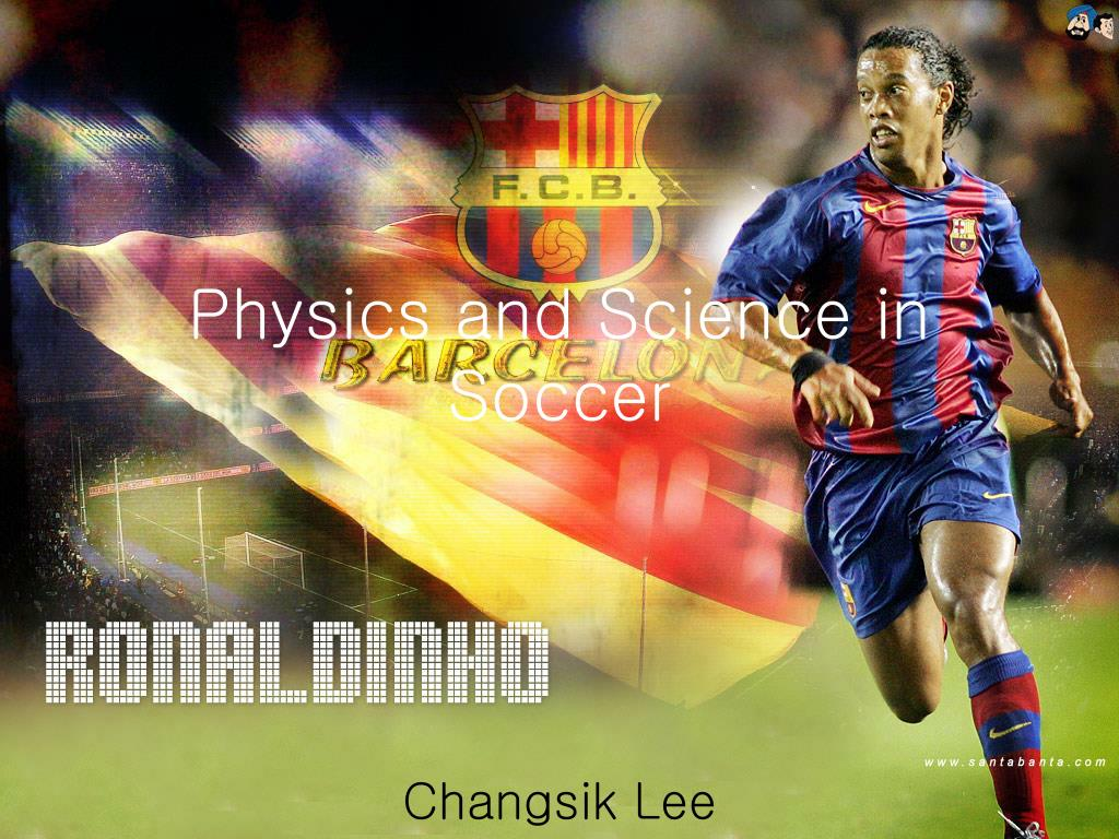 physics and science in soccer l.