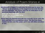 analysis of poem stanza 4