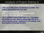 analysis of poem stanza 5