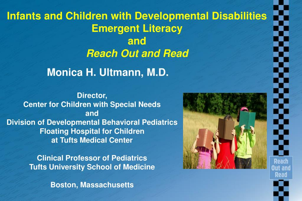 infants and children with developmental disabilities emergent literacy and reach out and read l.