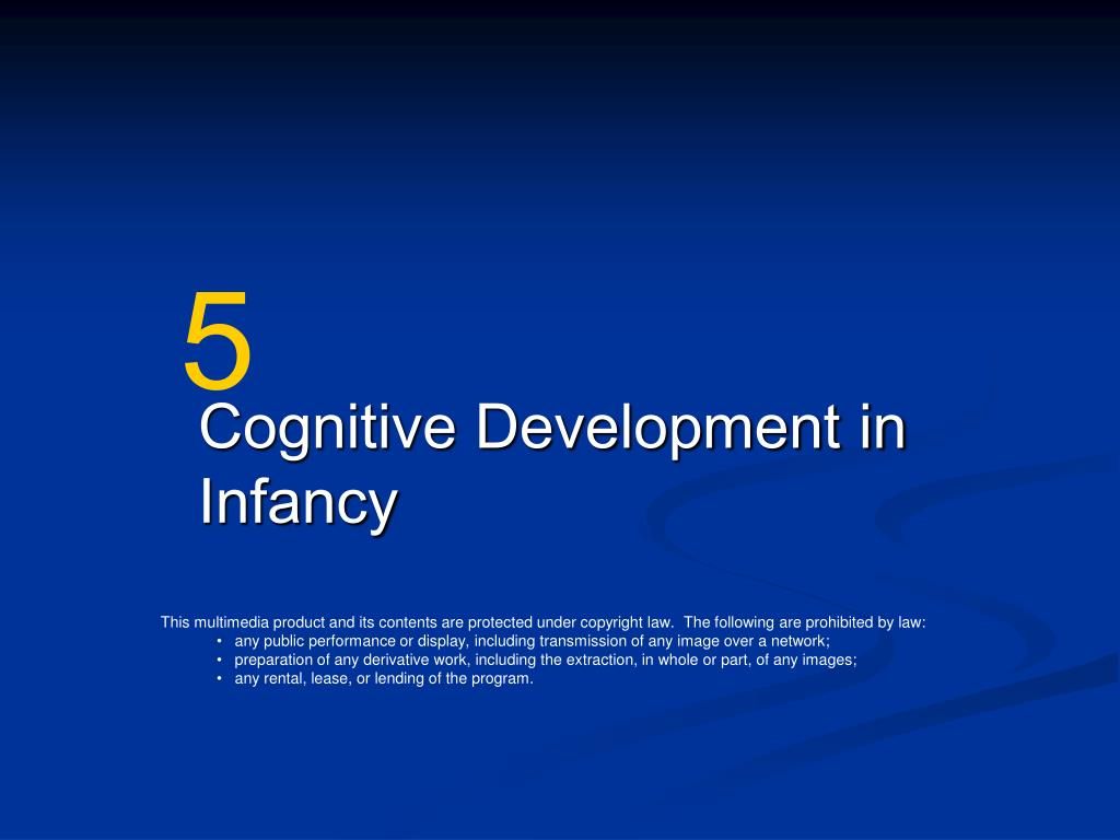 cognitive development in infancy l.