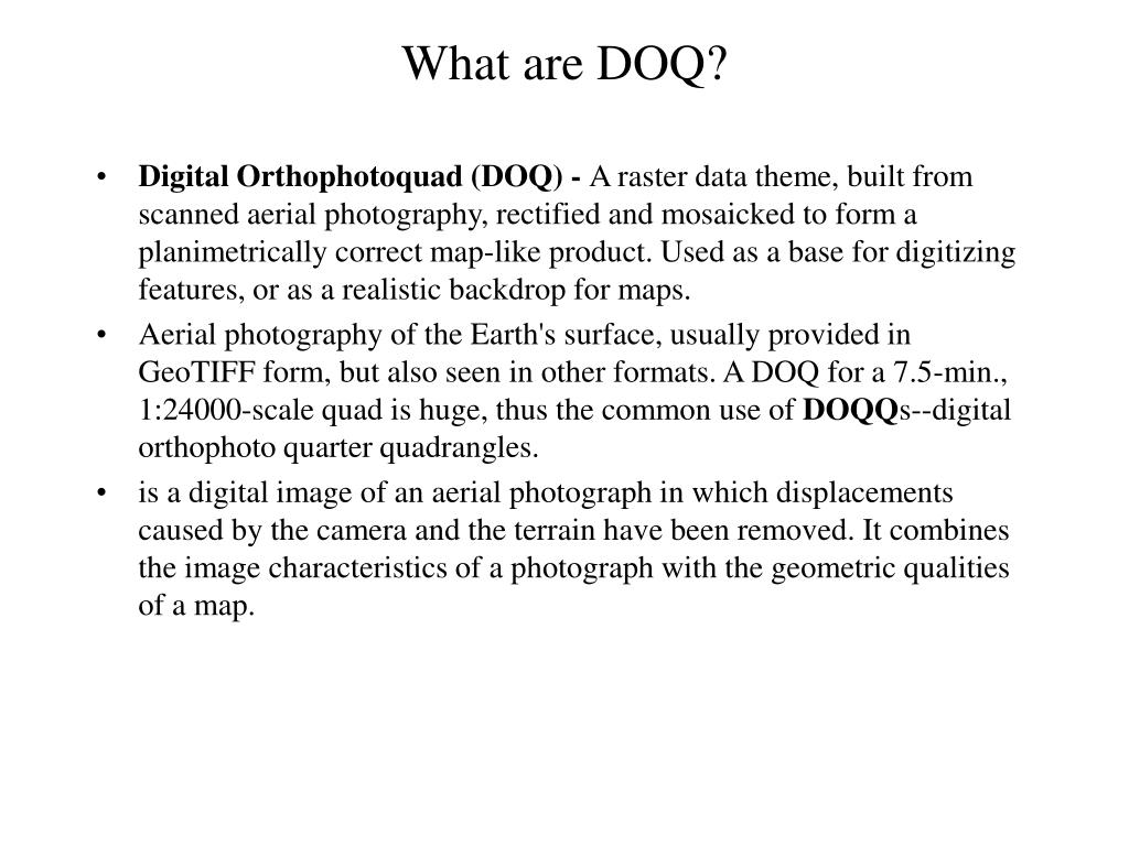 what are doq l.