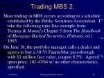 trading mbs 2