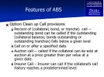 features of abs115