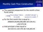 monthly cash flow construction70