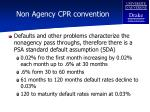 non agency cpr convention