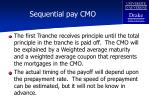 sequential pay cmo