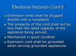 electrical hazards cont d48