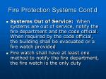 fire protection systems cont d73