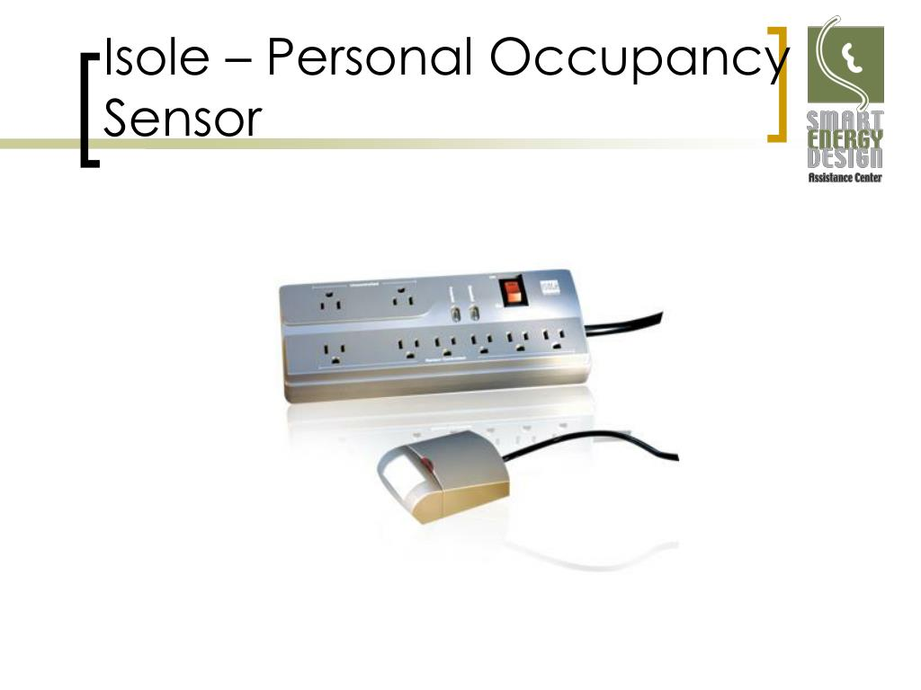 Isole – Personal Occupancy Sensor