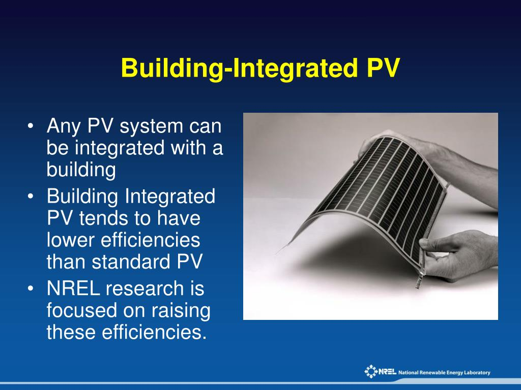 Building-Integrated PV