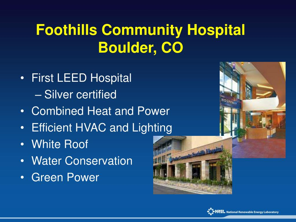 Foothills Community Hospital