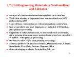 1 7 civil engineering materials in newfoundland and labrador