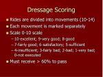 dressage scoring