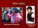 rider safety