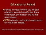 education or policy42