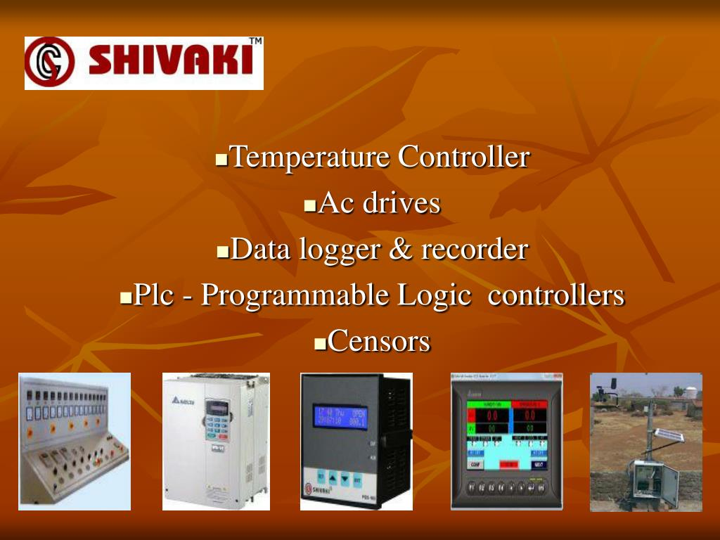 temperature controller ac drives data logger recorder plc programmable logic controllers censors l.