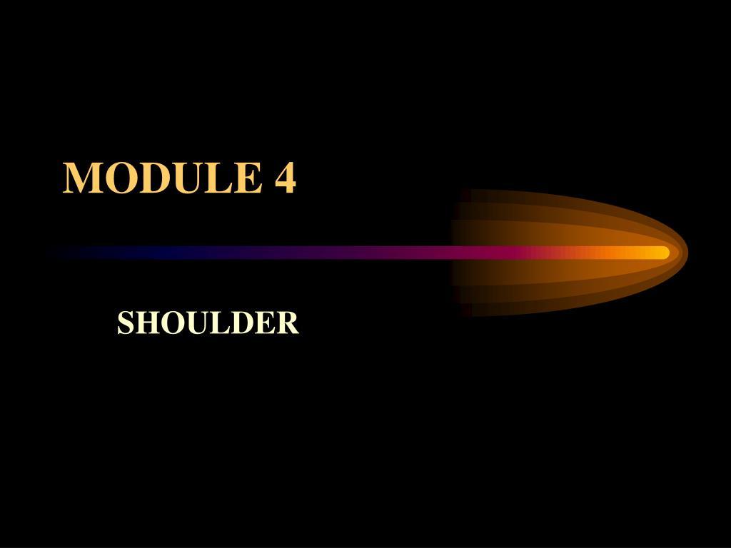 module 4 l.
