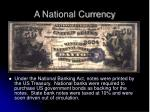 a national currency