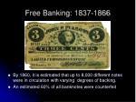 free banking 1837 18661