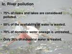 ic river pollution