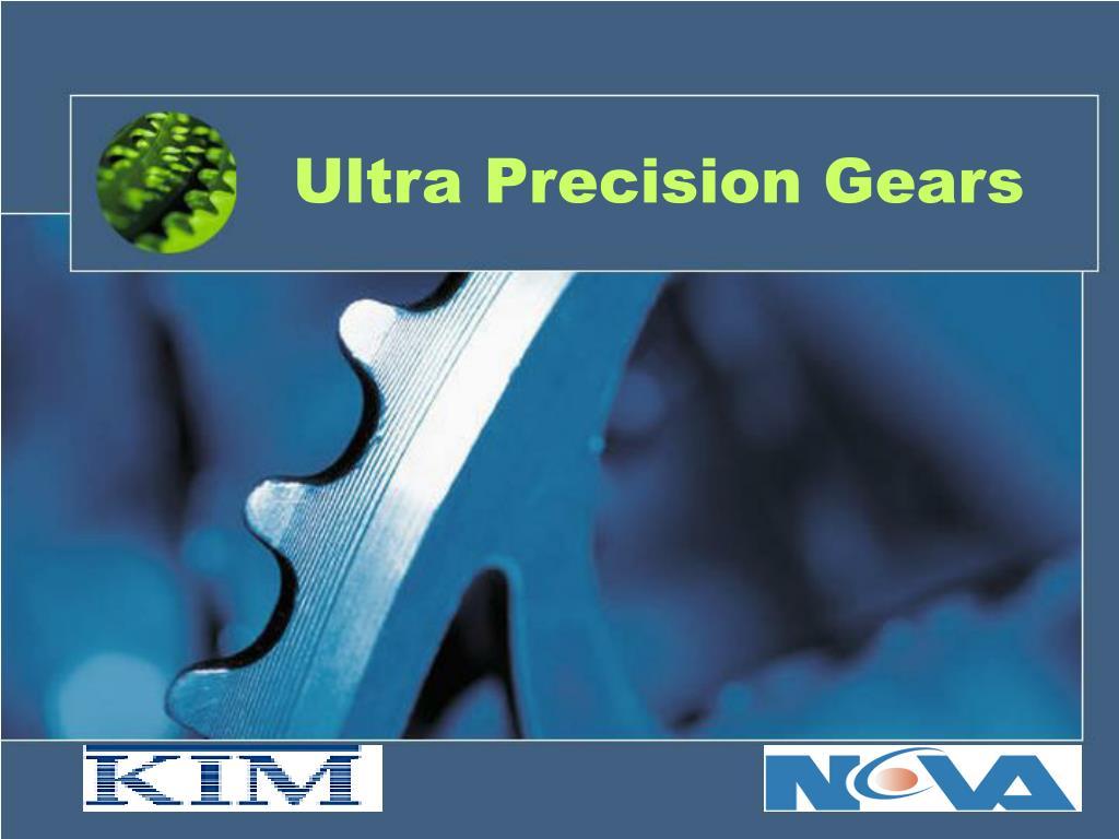 ultra precision gears l.