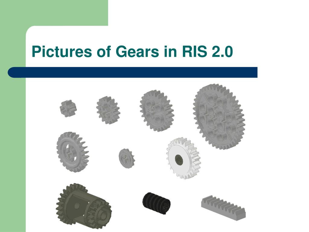 Pictures of Gears in RIS 2.0