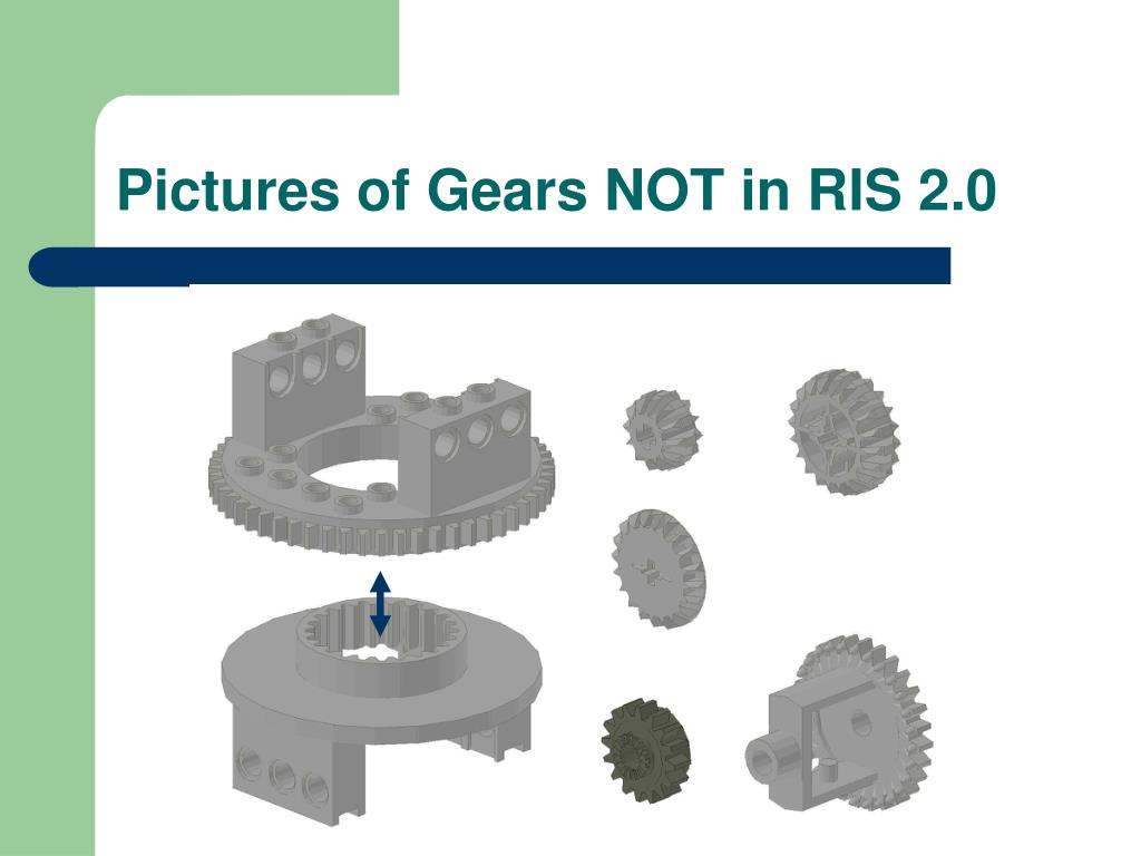 Pictures of Gears NOT in RIS 2.0