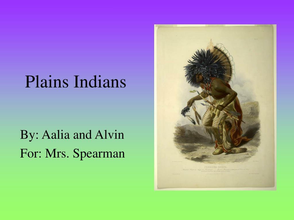 plains indians l.