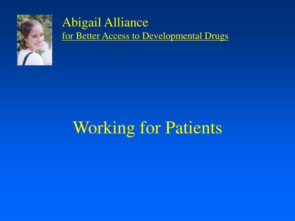 Abigail Alliance