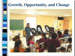 growth opportunity and change43