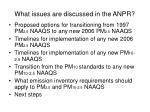what issues are discussed in the anpr