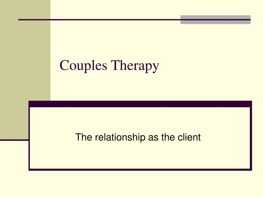 couples therapy l.