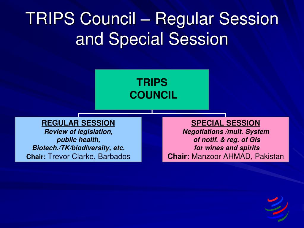 TRIPS Council – Regular Session and Special Session