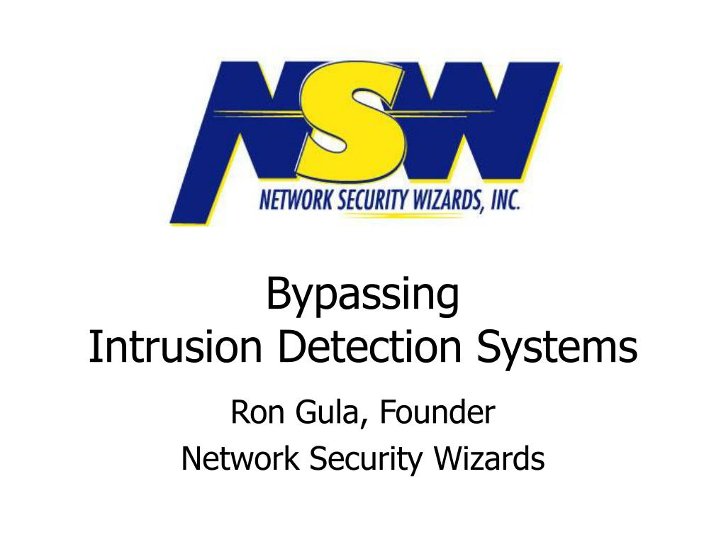 bypassing intrusion detection systems l.