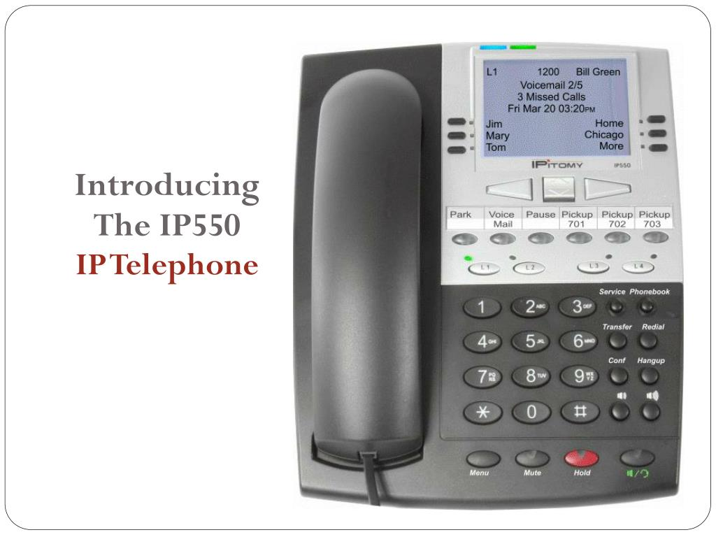 introducing the ip550 ip telephone l.