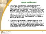 appeal backlog cont