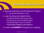 gazelles education process