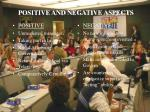positive and negative aspects