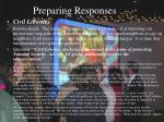 preparing responses