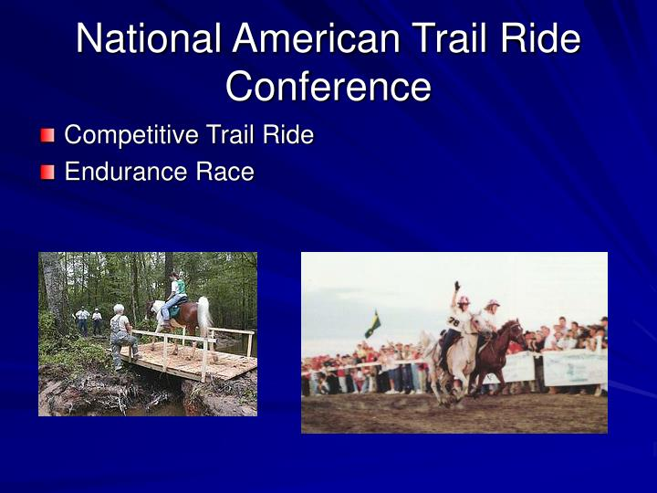National American Trail Ride Conference