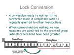 lock conversion