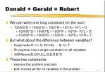 donald gerald robert