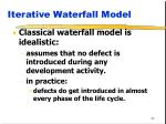 iterative waterfall model