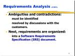 requirements analysis cont1