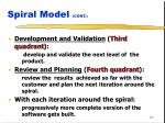 spiral model cont2