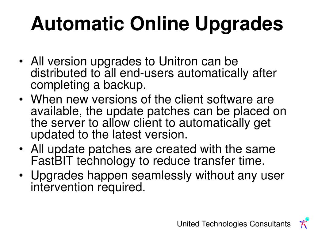 Automatic Online Upgrades