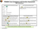 tradoc core competency and function assessment mso assessment